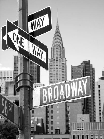 Broadway--Photographic Print