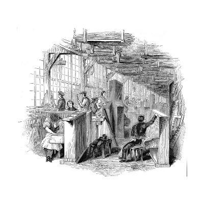 Broadwood's Piano Factory, Horseferry Road, Westminster, London, 1842--Giclee Print