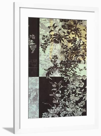 Brocade Botanical II-John Butler-Framed Art Print