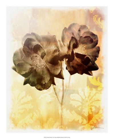 Brocade Garden I-James Burghardt-Giclee Print