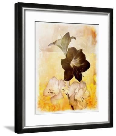 Brocade Garden II-James Burghardt-Framed Giclee Print