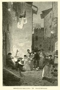 Broccoli-Sellers in Trastevere