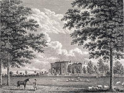 Brockwell Hall, Herne Hill, Lambeth, London, 1820-Bartholomew Howlett-Giclee Print