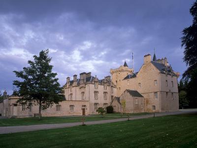 Brodie Castle, Near Forres, Morayshire, Scotland, UK-Patrick Dieudonne-Photographic Print