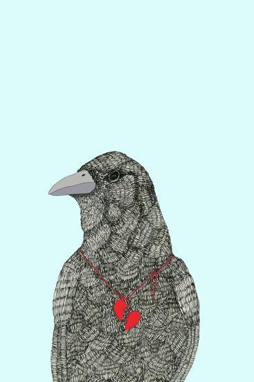 Broken Heart-Annie Bailey Art-Art Print