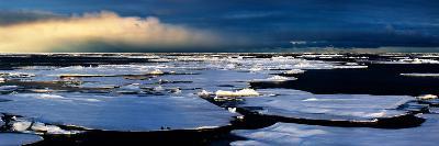 Broken Sea Ice-Howard Ruby-Photographic Print
