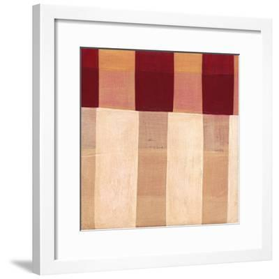 Broken Stripes 1-Laura Nugent-Framed Art Print