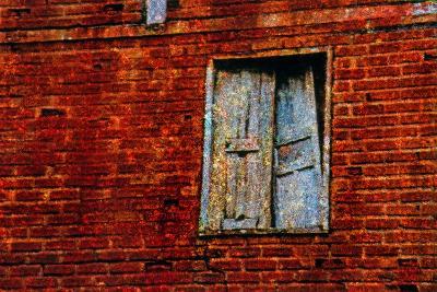 Broken Window-Andr? Burian-Photographic Print
