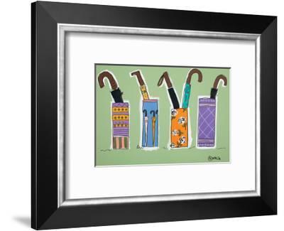 Brollies-Brian Nash-Framed Art Print