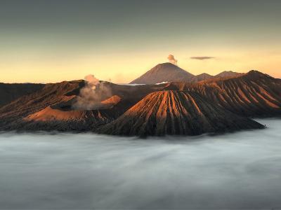 Bromo-Tengger-Semeru National Park on the Island of Java in Indonesia-Kyle Hammons-Photographic Print