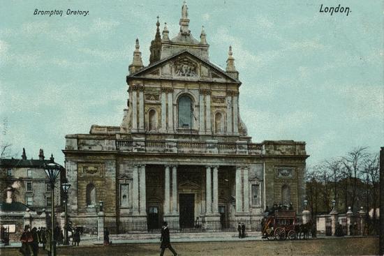 'Brompton Oratory, London', c1910-Unknown-Giclee Print