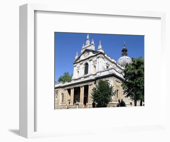 Brompton Oratory, South Kensington, London-Peter Thompson-Framed Photographic Print