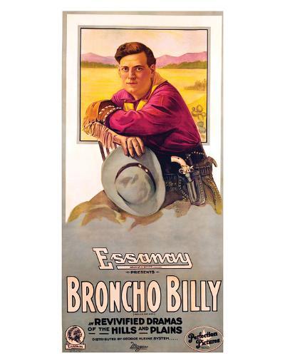 Broncho Billy - 1915--Giclee Print
