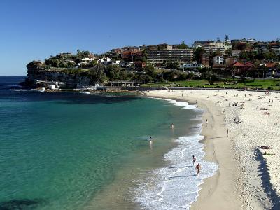 Bronte Beach, Sydney, Australia-David Wall-Photographic Print
