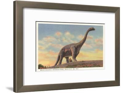 Brontosaurus, Dinosaur Park, Rapid City, South Dakota