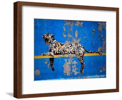 Bronx Zoo-Banksy-Framed Premium Giclee Print