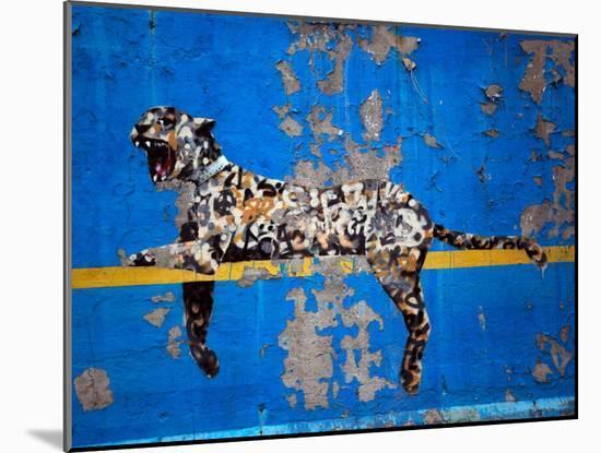 Bronx Zoo-Banksy-Mounted Giclee Print