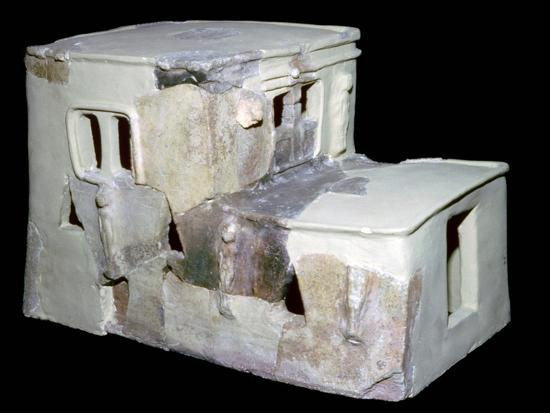 Bronze Age Syrian model of a house. Artist: Unknown-Unknown-Giclee Print