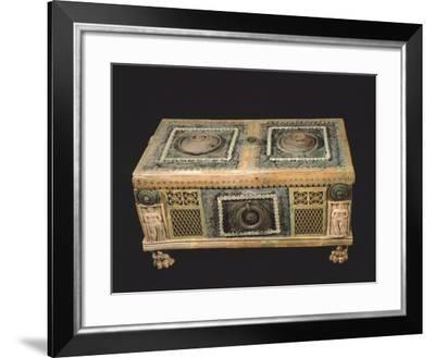 Bronze and Ivory Jewelry Box, Campania, Italy--Framed Giclee Print