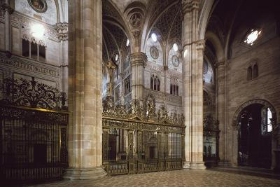 Bronze and Wrought Iron Railing Separating Transept from Nave, 1660--Giclee Print