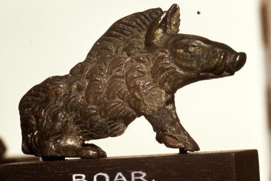 Bronze Boar found at Colchester, Essex, Roman Period, c2nd-3rd century-Unknown-Giclee Print