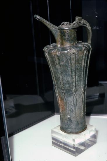 Bronze Celtic Flagon from Durrnberg, 5th Century BC-Unknown-Giclee Print