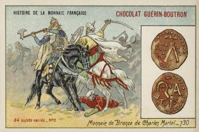Bronze Coins of Charles Martel, 730--Giclee Print
