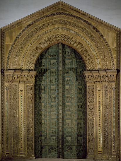 Bronze Door, 1185-1186-Bonanno Pisano-Giclee Print