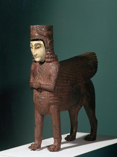 Bronze fantastic creature from Urartu, 9th century BC. Artist: Unknown-Unknown-Giclee Print