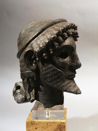 Bronze Head of Zeus, from Olympia, Greece--Giclee Print