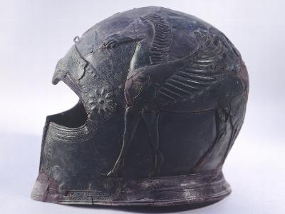Bronze Helmet, Asso--Photographic Print