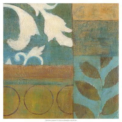 Bronze Leaf Quadrant I-W^ Green-Aldridge-Giclee Print