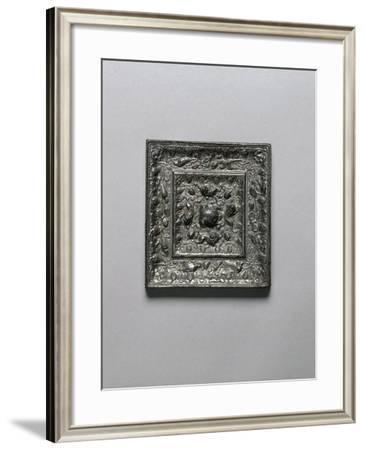 Bronze Mirro, Tang Dynasty--Framed Giclee Print