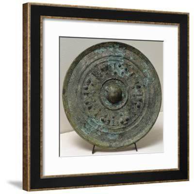 Bronze Mirror from Tomami, Department of Hyogo, Japan--Framed Giclee Print