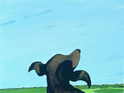 Bronze Profile #2, 1997-Marjorie Weiss-Giclee Print