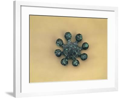 Bronze Ritual Object with Eight Bells from Tomb in Daegok-Ri, Hwasun in Jeollanam-Do, Bronze Age--Framed Giclee Print