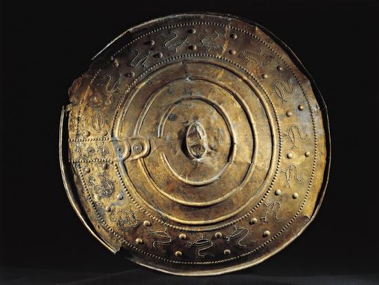 Bronze Shield from Nackhalle, Sweden--Giclee Print