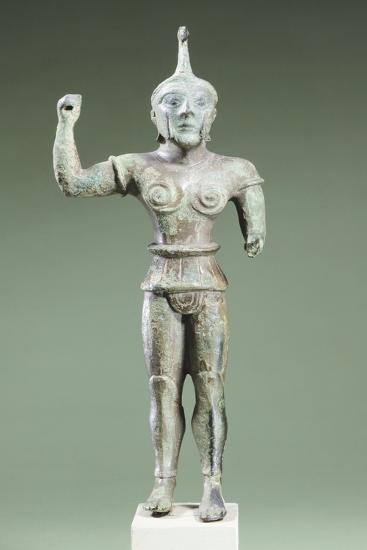 Bronze Statue Depicting Laran. Etruscan Civilization, Ca 520 BC--Giclee Print