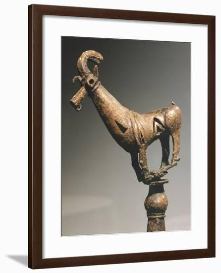 Bronze Statue Depicting Zoomorphic Figure, from Sirakavan, Armenia--Framed Giclee Print