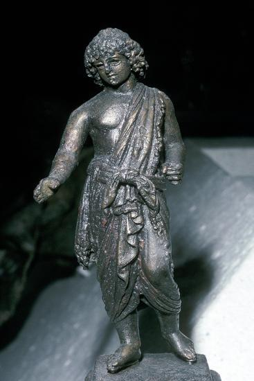 Bronze Statue of Adonis, Saida, Lebanon, 2nd century. Artist: Unknown-Unknown-Giclee Print