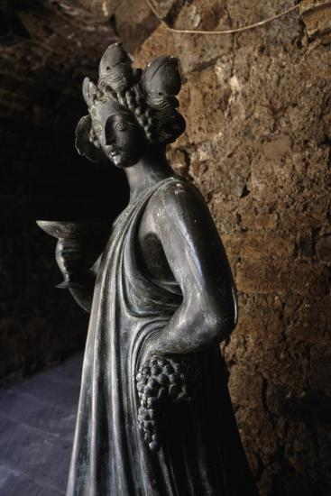 Bronze Statue of Bacchus, Capalbio, Tuscany, Italy-Luigi Masotti-Giclee Print