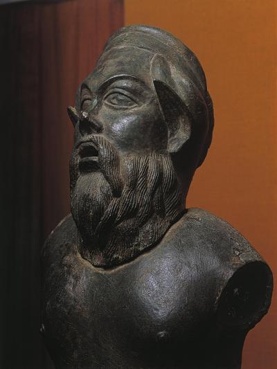 Bronze Statue of Silenus Marsyas--Giclee Print
