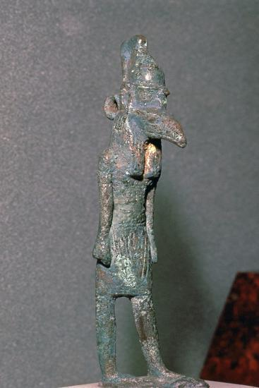 Bronze statuette of the Egyptian god Set. Artist: Unknown-Unknown-Giclee Print