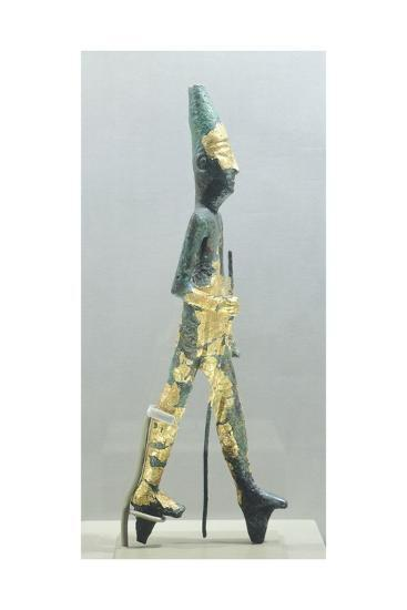 Bronze Statuette Representing Walking Male Figure, from Temple of the Obelisks, Byblos--Giclee Print