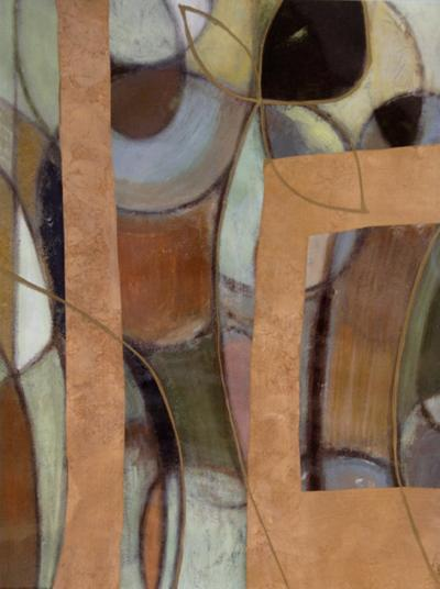 Bronzed Whimsey II--Art Print