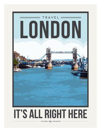 Travel Poster London