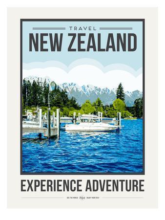 Travel Poster Newzealand