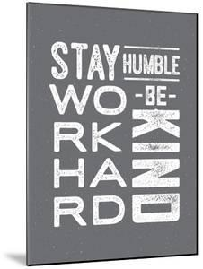 Type Humble and Kind by Brooke Witt