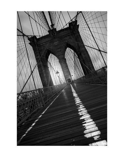 Brooklyn Bridge 1, 2010-Moises Levy-Art Print