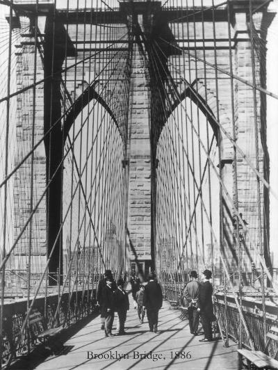 Brooklyn Bridge, 1886-H^ Armstrong Roberts-Art Print
